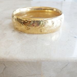Vintage Gold Filled Bangle Bracelet 1965